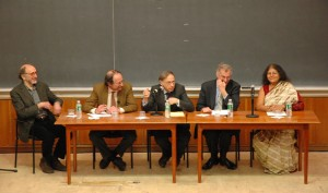 Jon Beckwith, Harold Varmus,  Charles Rosenberg, David Goldston, and Sheila Jasanoff.